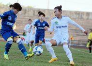 TKS Việt Nam có chiến thắng đầu tay tại giải bóng đá nữ VĐQG - cúp Thái Sơn Bắc 2018
