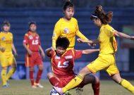 TPHCM 1 chia điểm với Phong Phú Hà Nam tại giải bóng đá nữ VĐQG - cúp Thái Sơn Bắc 2018