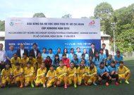 Khai mạc giải bóng đá THCS nữ TP.HCM - cúp Konoike 2018