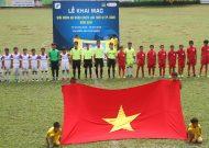 Khai mạc giải bóng đá năng khiếu lứa tuổi 12 TPHCM năm 2018