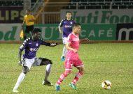 Sài Gòn FC thắng CLB Hà Nội, CLB TPHCM thua Hải Phòng ở vòng 14 Nuti Cafe V-League 2018