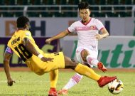 CLB TPHCM hoà, Sài Gòn FC thất bại tại vòng 11 Nuti Cafe V-League 2018