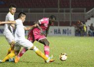 Hai đội bóng TPHCM đạt kết quả tốt ở vòng 12 Nuti Cafe V-League 2018