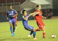 CLB TPHCM hoà, Sài Gòn FC thua tại vòng 13 Nuti Cafe V-League 2018