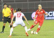 Hai đội bóng TPHCM cùng thua ở vòng 15 Nuti Cafe V-League 2018