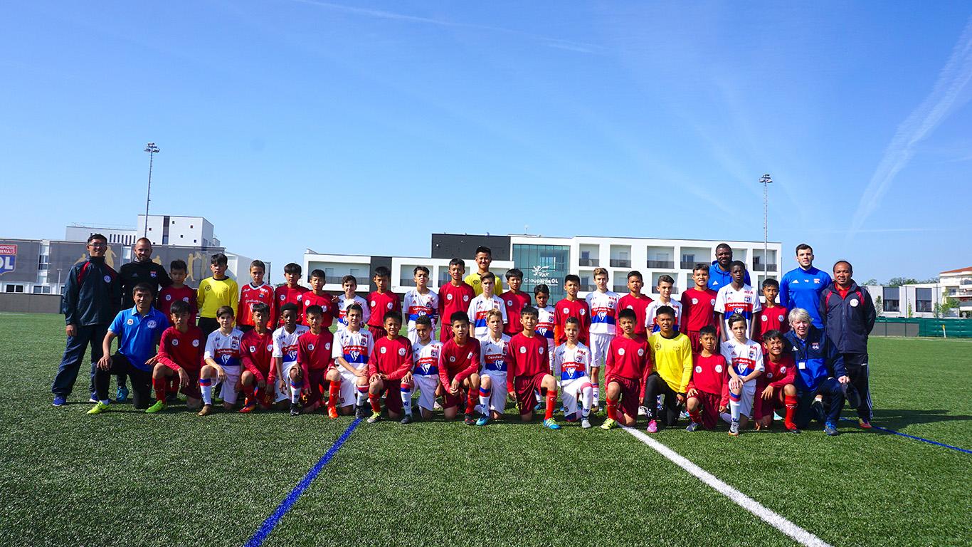 Liên đoàn bóng đá TPHCM kết hợp với Lyon tuyển sinh cầu thủ