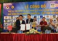 Bốc thăm VCK giải bóng đá U17 quốc gia – cúp Thái Sơn Nam 2018