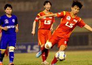 TPHCM 1 có thêm trận hoà tại giải bóng đá nữ VĐQG – cúp Thái Sơn Bắc 2018