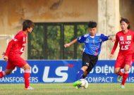 Hà Nội vô địch lượt đi giải bóng đá nữ VĐQG – cúp Thái Sơn Bắc 2018