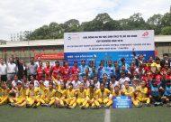 Văn Lang Quận 1 vô địch giải bóng đá nữ THCS TPHCM - cúp Konoike năm 2018
