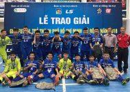Thái Sơn Nam vô địch giải futsal trẻ TPHCM mở rộng năm 2018
