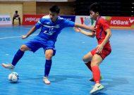 Thái Sơn Nam vươn lên ngôi đầu giải futsal VĐQG HDBank 2018