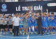 Thái Sơn Nam Q.8 vô địch giải futsal TPHCM 2018