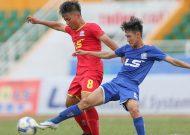 SL Nghệ An và B.Bình Dương vào bán kết giải bóng đá U15 quốc gia - cúp Thái Sơn Bắc2018