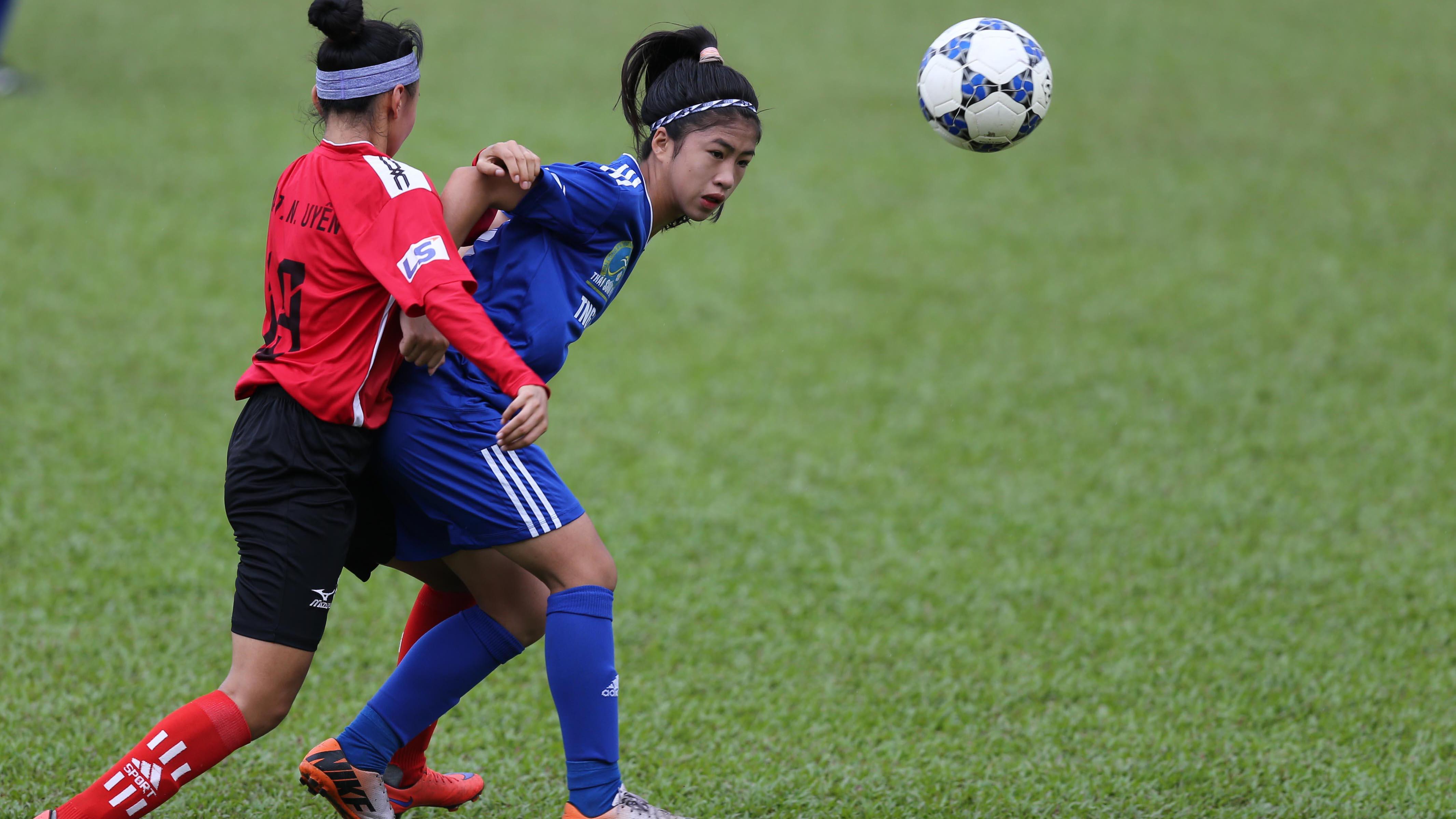 Sơn La thua Thái Nguyên tại giải bóng đá nữ VĐQG – cúp Thái Sơn Bắc 2018