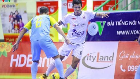 Tân Hiệp Hưng nối dài mạch thắng tại giải futsal VĐQG HDBank 2018