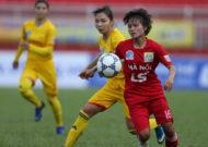 Hà Nội chắc chắn dẫn đầu lượt về giải bóng đá nữ VĐQG - cúp Thái Sơn Bắc 2018