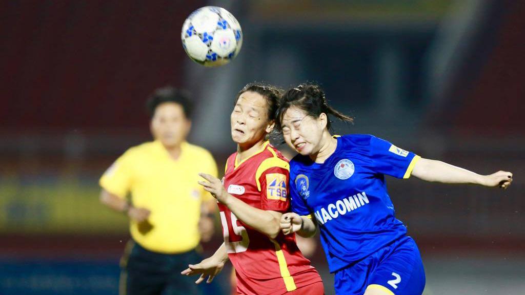 TPHCM và Hà Nam vào chung kết giải bóng đá nữ VĐQG - cúp Thái Sơn Bắc 2018