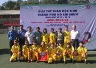 Kết thúc giải thể thao học sinh TPHCM năm 2018 - môn bóng đá