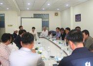 Một số hình ảnh về buổi làm việc giữa Liên đoàn bóng đá TPHCM (HFF) và Hội thể thao TP Seogwipo (Jeju - Hàn Quốc)