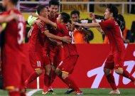 Đội tuyển Việt Nam đánh bại Malaysia ở AFF Cup 2018