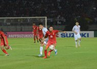 Đội tuyển Việt Nam hoà đáng tiếc trước Myanmar tại AFF Cup 2018