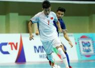 Đội tuyển futsal Việt Nam thua Thái Lan tại giải Đông Nam Á 2018