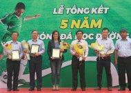 Tổng kết 5 năm chương trình bóng đá học đường TPHCM giai đoạn 2013 - 2018