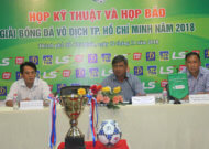 Giải bóng đá vô địch TPHCM 2018: mở rộng cho cầu thủ chuyên nghiệp