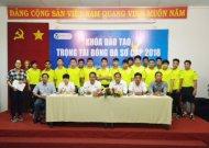 Khai giảng khoá đào tạo trọng tài bóng đá sơ cấp TPHCM năm 2018