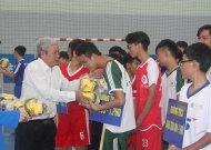 Nguyễn Thị Định và Trí Đức vào chung kết giải futsal THCS TPHCM năm học 2018 - 2019
