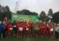 Huy Long Corp giành chức vô địch giải bóng đá vô địch TP.HCM 2018