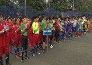 43 đội tham dự festival bóng đá học đường huyện Hóc Môn, năm học 2018 - 2019
