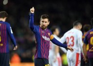 Lionel Messi becomes first player to score 400 La Liga goals
