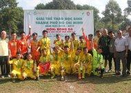 Phú Nhuận vô địch môn bóng đá khối 6-7, giải thể thao học sinh TPHCM, năm học 2018 - 2019