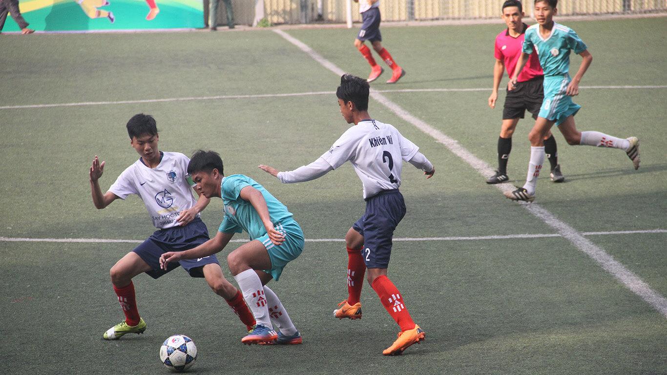 Khai mạc giải bóng đá học sinh THPT nam TPHCM, năm học 2018 - 2019