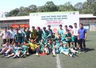 Trường Nguyễn Thị Định vô địch giải bóng đá học sinh nam THPT TPHCM, năm học 2018 - 2019