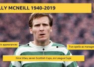 Billy McNeill: Former Celtic captain & manager dies aged 79