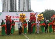 Khánh thành cụm sân tập luyện bóng đá năng khiếu TPHCM