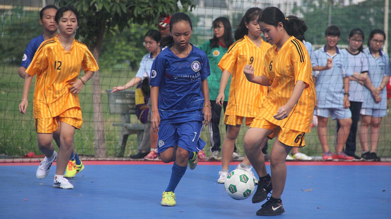Festival bóng đá học đường khối THCS TPHCM, năm học 2018 - 2019