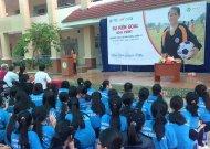 Festival Goal Event tại trường THCS Lê Anh Xuân - Q.11