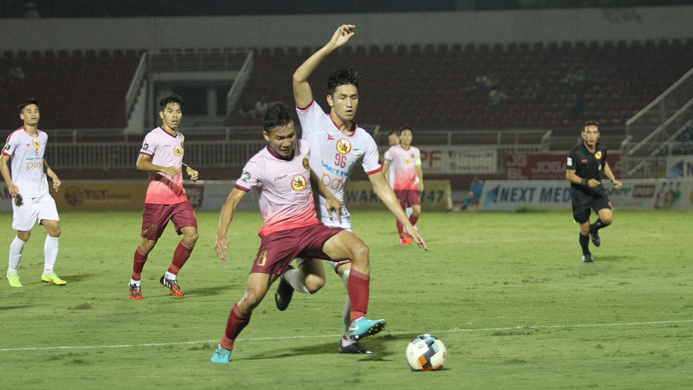 Hai đội bóng TPHCM cùng thắng ở vòng 10 Wake-up 247 V-League 2019