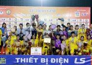 Phong Phú Hà Nam vô địch giải bóng đá nữ cúp quốc gia – cúp LS 2019