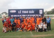 HCMC former players team win HCMC Vetarans football tournament 2019 (over 48)
