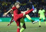 Đội tuyển Việt Nam thua Curacao trong trận chung kết King's Cup 2019