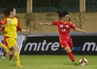 TPHCM có chiến thắng đậm tại giải bóng đá nữ VĐQG - cúp Thái Sơn Bắc 2019