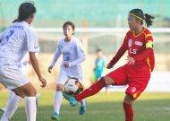 TPHCM hoà Hà Nội tại giải bóng đá nữ VĐQG - cúp Thái Sơn Bắc 2019