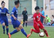 Hà Nội áp sát ngôi đầu giải bóng đá nữ VĐQG - cúp Thái Sơn Bắc 2019