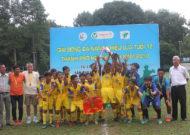 Phú Nhuận vô địch giải bóng đá năng khiếu TPHCM lứa tuổi 12 năm 2019