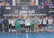 Thái Sơn Nam Quận 8 vô địch giải futsal nữ TPHCM mở rộng năm 2019 - cúp LS lần 9